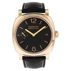 Panerai Radiomir 1940 PAM515 3 Days Oro Rosso Men's Watch Box and Papers