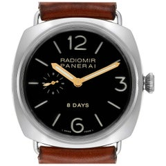Panerai Radiomir 8 Days Steel Men's Watch PAM190 PAM00190