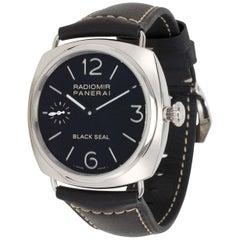 Panerai Radiomir Black Seal PAM 00183 Men's Watch in Stainless Steel
