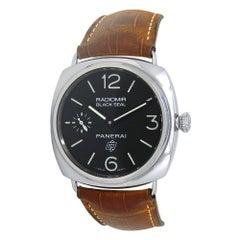 Panerai Radiomir Black Seal Stainless Steel Men's Watch Manual PAM00380
