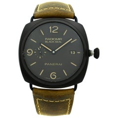 Panerai Radiomir Composite Black Seal 3 Day Black Dial Men's Watch PAM00505