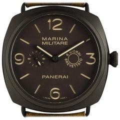Panerai Radiomir Composite Marina Militare 8 Giorni Manual Wind Wristwatch