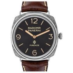 Panerai Radiomir Firenze PAM00672 Stainless Steel Manual Watch