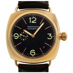 Panerai Radiomir PAM00103, Black Dial, Certified and Warranty