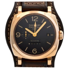 Panerai Radiomir PAM00273, Charcoal Dial, Certified and Warranty