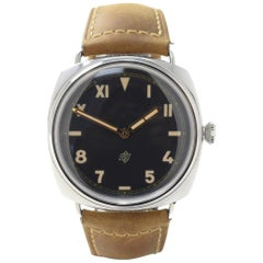 Panerai Radiomir PAM00424 with Stainless-Steel Bezel and Black Dial