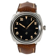 Panerai Radiomir PAM00424, Yellow Dial, Certified and Warranty