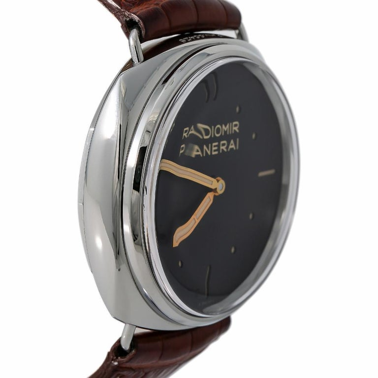 Contemporary Panerai Radiomir PAM00425, White Dial, Certified and Warranty For Sale