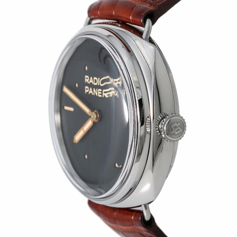 Men's Panerai Radiomir PAM00425, White Dial, Certified and Warranty For Sale