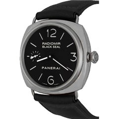 Panerai Stainless Steel Black Seal Radiomir Limited Edition Automatic Wristwatch