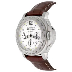 Panerai Stainless Steel Luminor Daylight Limited Edition Automatic Wristwatch
