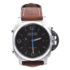 Panerai Stainless Steel PAM 254 Luminor Flyback