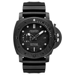 Panerai Submersible Marina Militare Carbotech Men's Watch PAM00979