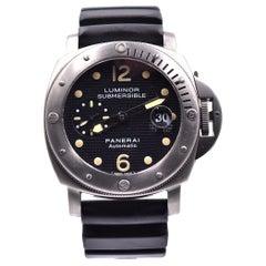 Panerai Titanium Luminor Submersible PAM 25