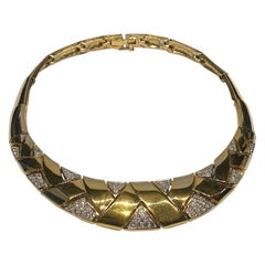 Panetta 1980s Art Deco Style Necklace