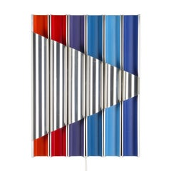 Panflute Extremely Rare Wall Piece by Bent Karlby 1968 Lyfa