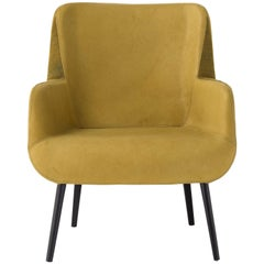Panis Lounge in Yellow Melange Leather by Emanuel Gargano & Anton Cristell