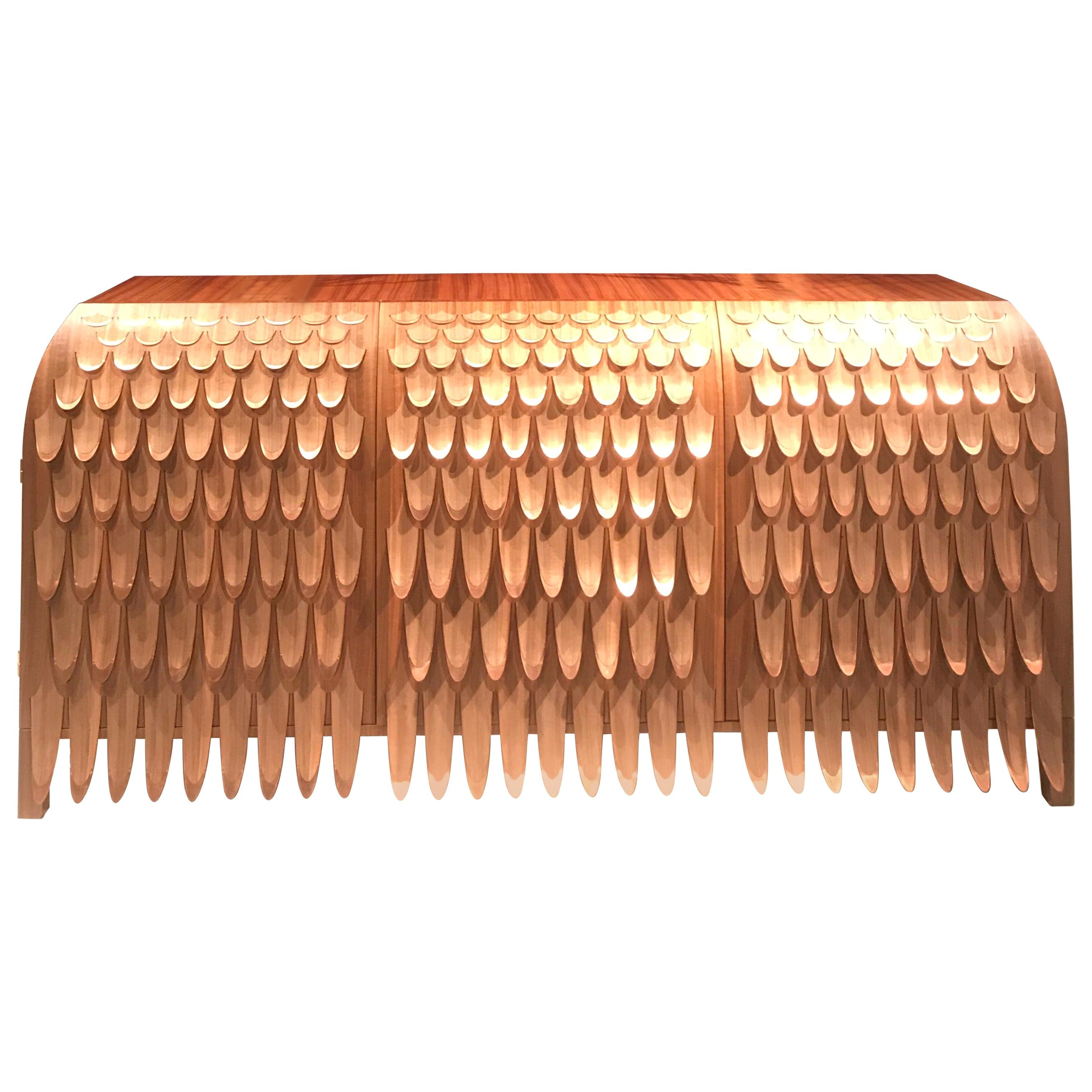 Pankalangu Credenza by Trent Jansen from the Broached Monster Collection