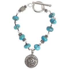Pantai OM Turquoise Bracelet