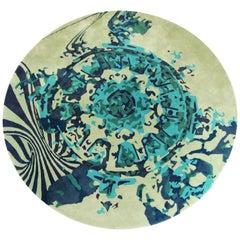 Pantheon Rug in Tufted Botanic Silk