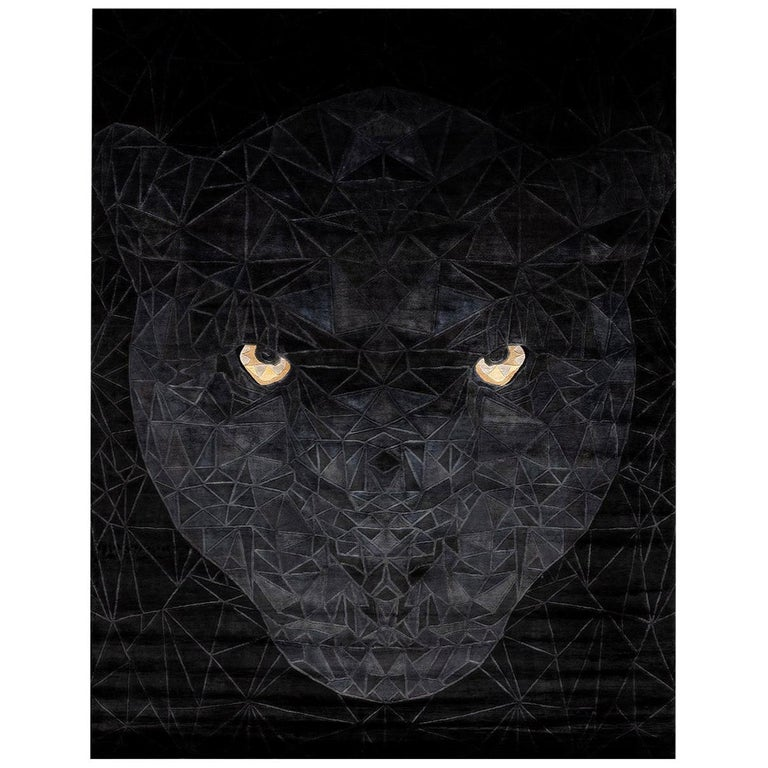 Panther Rug by Illulian Design Studio For Sale