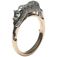 Panther Stackable Ring Diamond