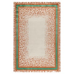 Panthera Hand-Knotted 9'x6'  Rug in Wool and Silk By Martin Brudnizki
