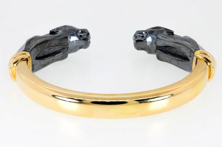 Panthere de Cartier Collection Gold Bracelet In Good Condition For Sale In Beverly Hills, CA