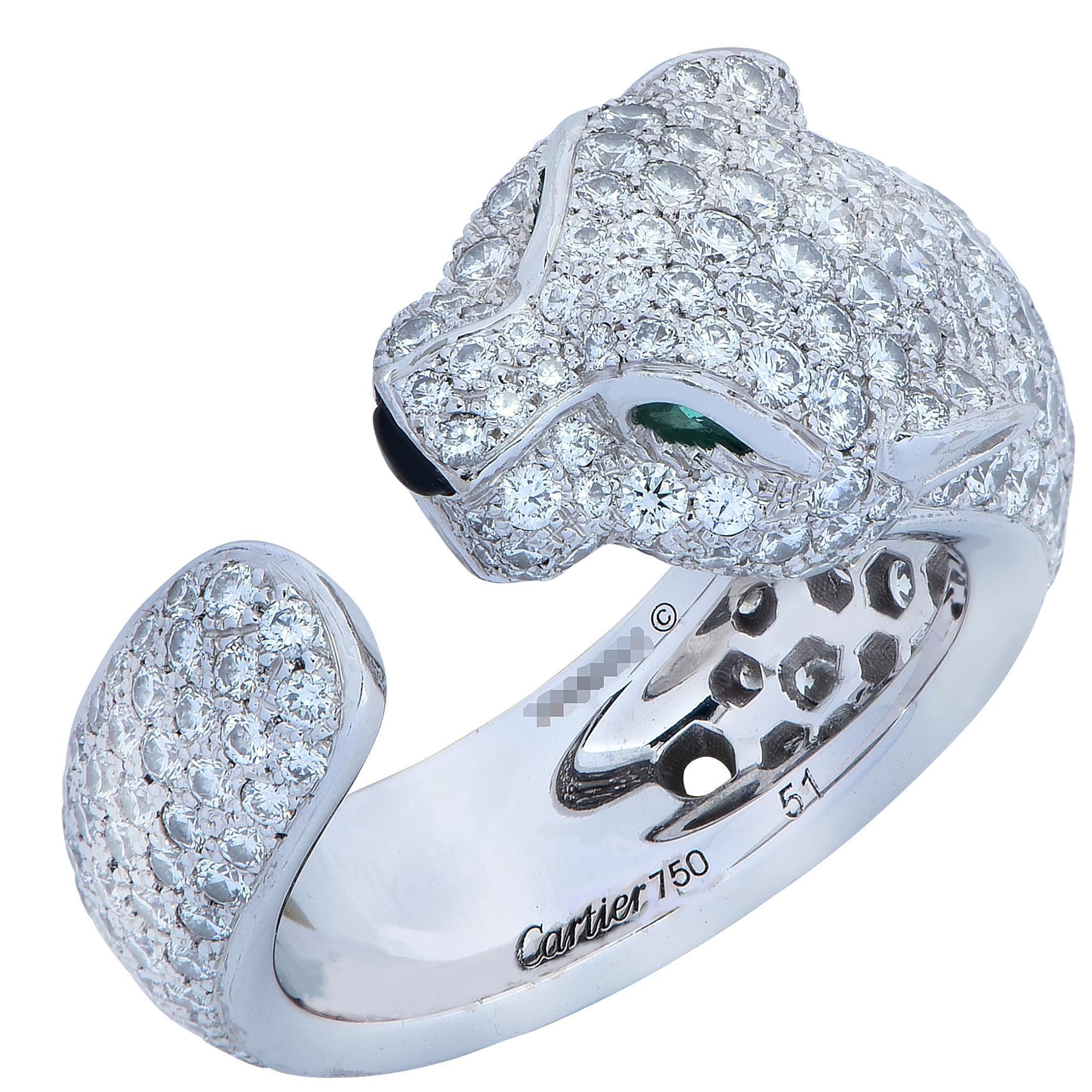 d252e81d8a47a Panthere de Cartier Diamond Ring