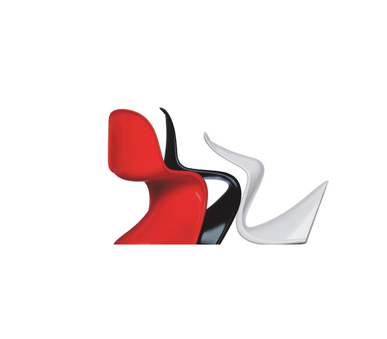 Panton Chair Classic Designed by Verner Panton and Manufactured by Vitra 5