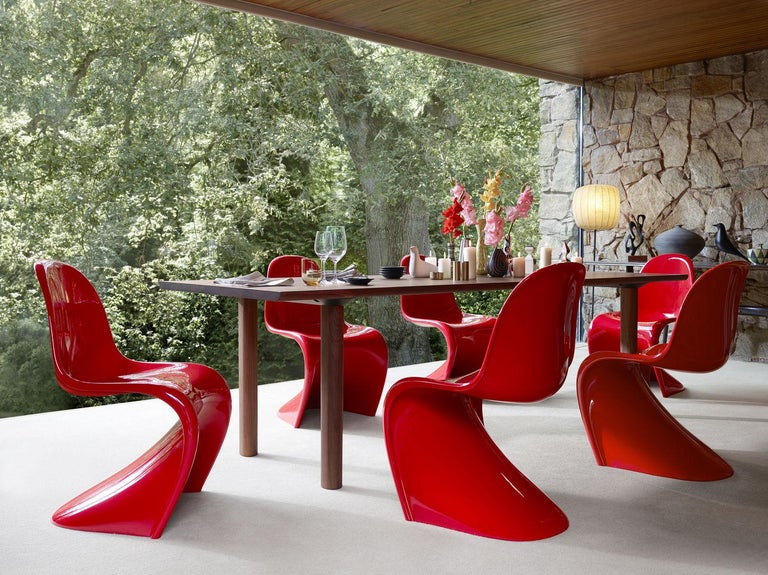 Panton Chair Classic Designed by Verner Panton and Manufactured by Vitra 11