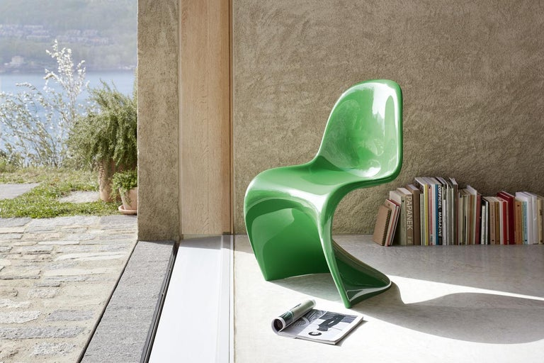 Panton Chair Classic Designed by Verner Panton and Manufactured by Vitra 13