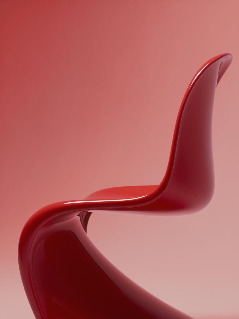 Contemporary Panton Chair Classic Designed by Verner Panton and Manufactured by Vitra
