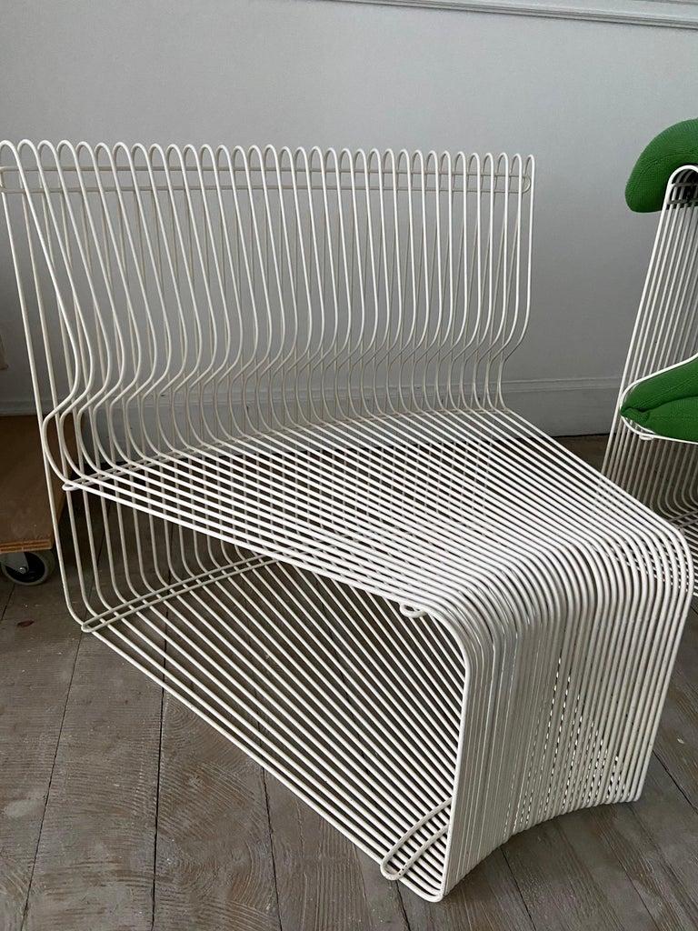 Pantonova Sofa Modules Set, Verner Panton Produced by Fritz Hansen, circa 1975 For Sale 10