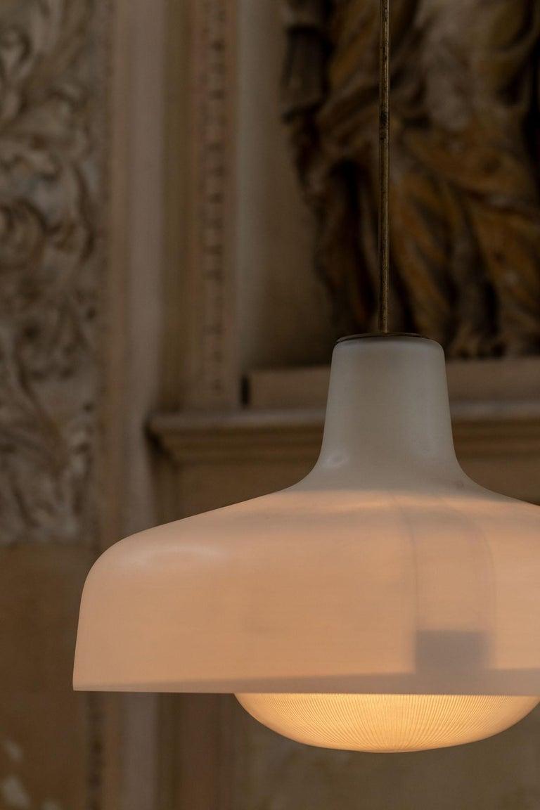 Brass Paolina Pendant by Ignazio Gardella For Sale