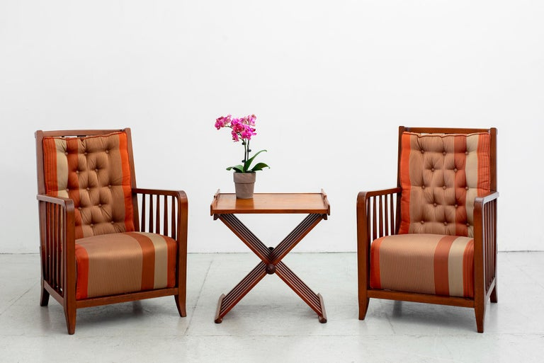 Paolo Buffa Armchairs In Good Condition For Sale In Los Angeles, CA