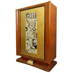 Paolo Buffa Bar Cabinet, 1950s