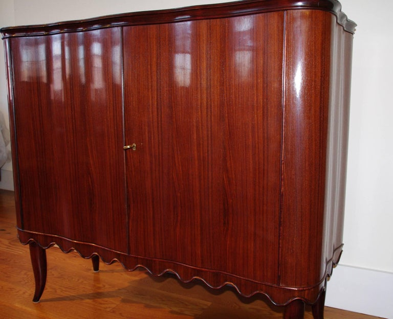 Wood Paolo Buffa Bar Cabinet, Italy, 1940 For Sale