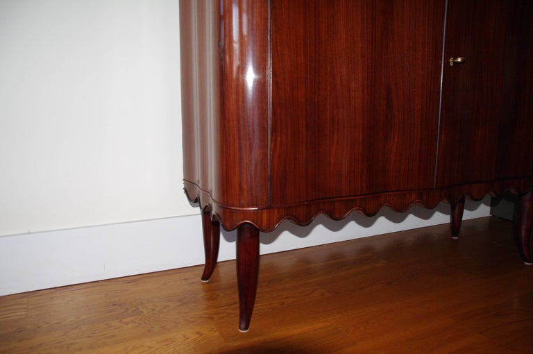 Paolo Buffa Bar Cabinet, Italy, 1940 For Sale 1