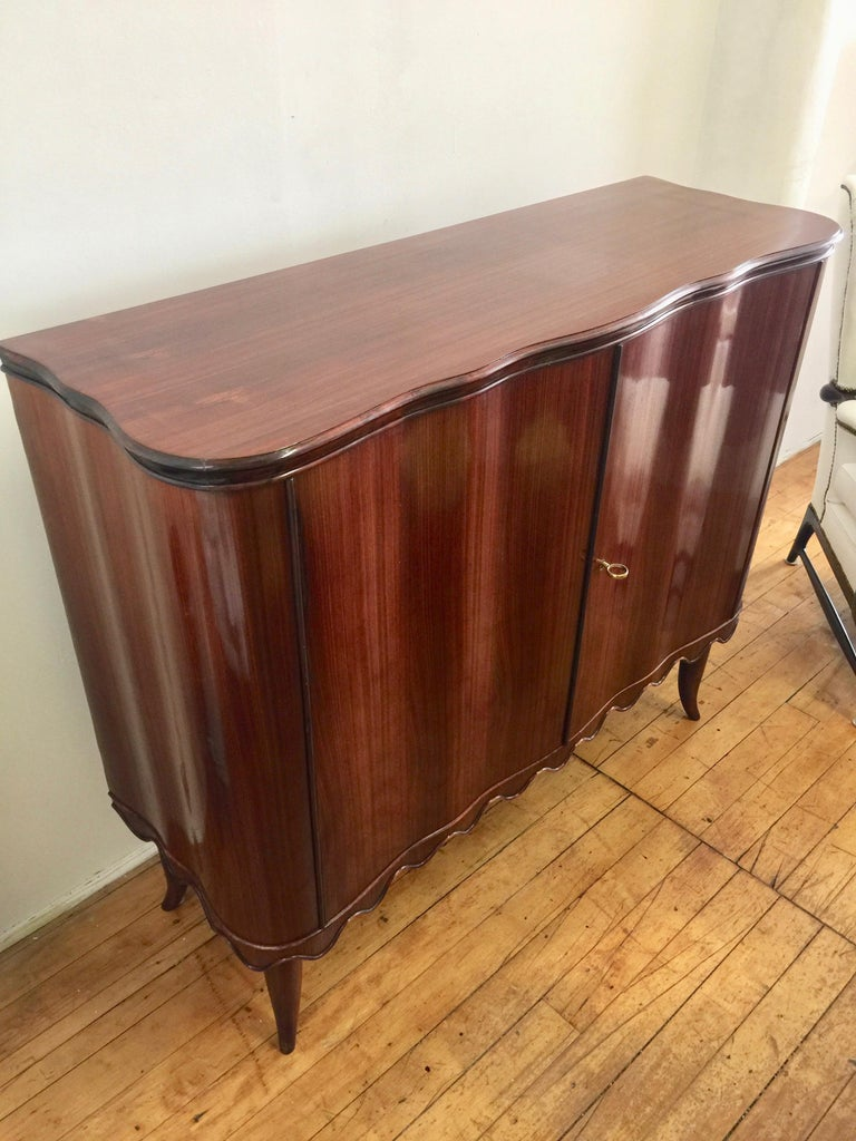 Paolo Buffa Bar Cabinet, Italy, 1940 For Sale 2