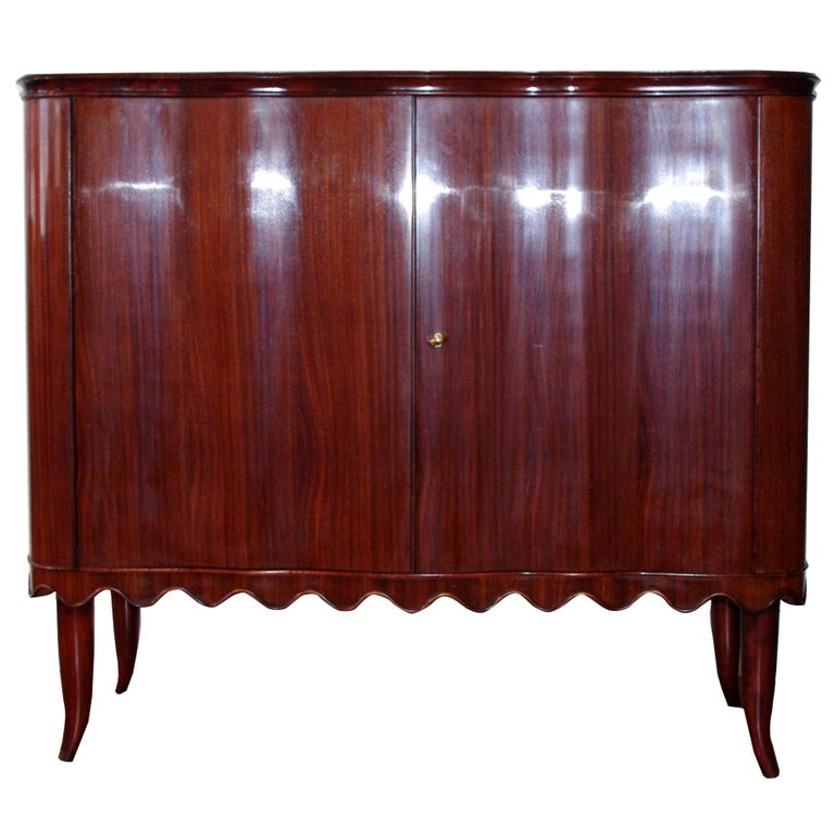 Paolo Buffa Bar Cabinet, Italy, 1940 For Sale
