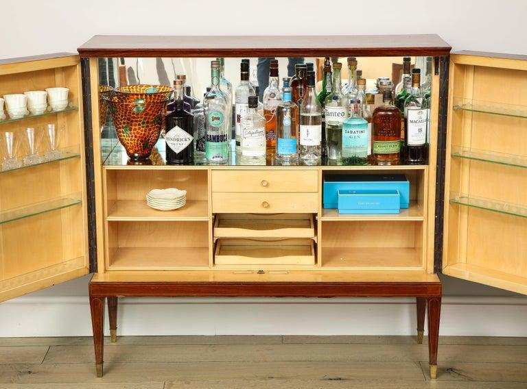 Italian Paolo Buffa Bar Cabinet, Italy, 1950s-1960s For Sale