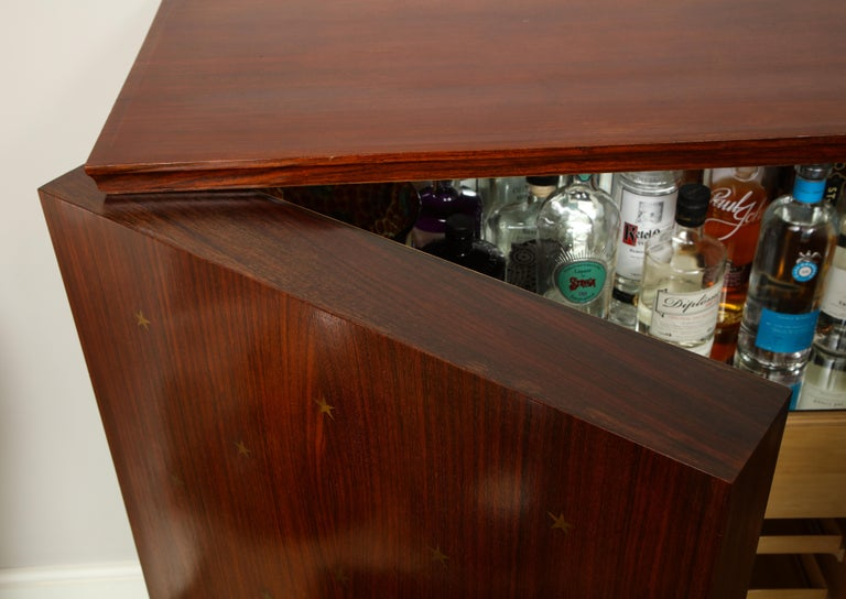 20th Century Paolo Buffa Bar Cabinet, Italy, 1950s-1960s For Sale
