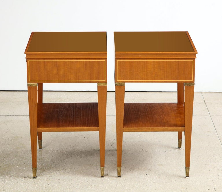 Mid-Century Modern Paolo Buffa Bedside Tables For Sale
