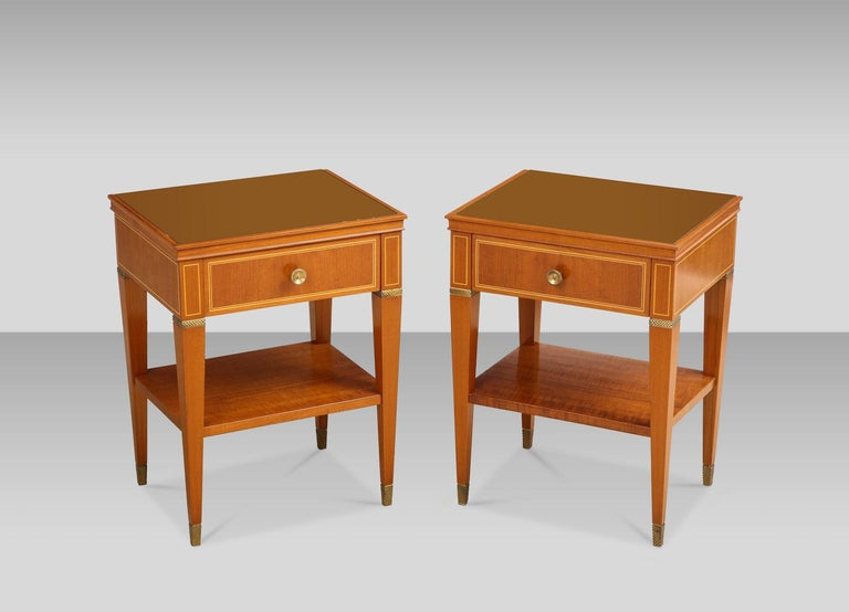 Paolo Buffa Bedside Tables In Good Condition For Sale In New York, NY