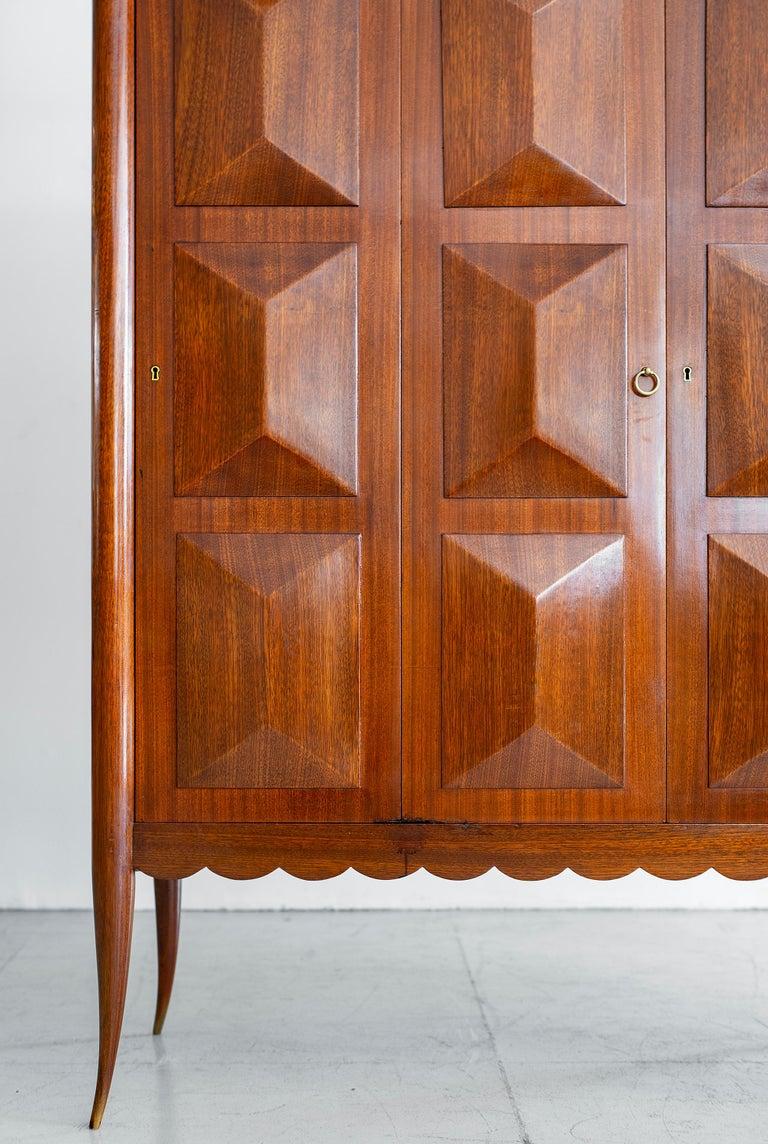 Mahogany Paolo Buffa Cabinet For Sale