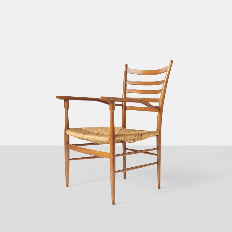 Italian Paolo Buffa Chiavarine Armchairs For Sale