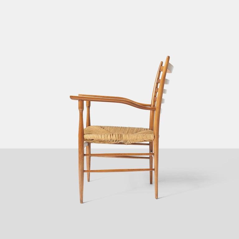 Mid-20th Century Paolo Buffa Chiavarine Armchairs For Sale