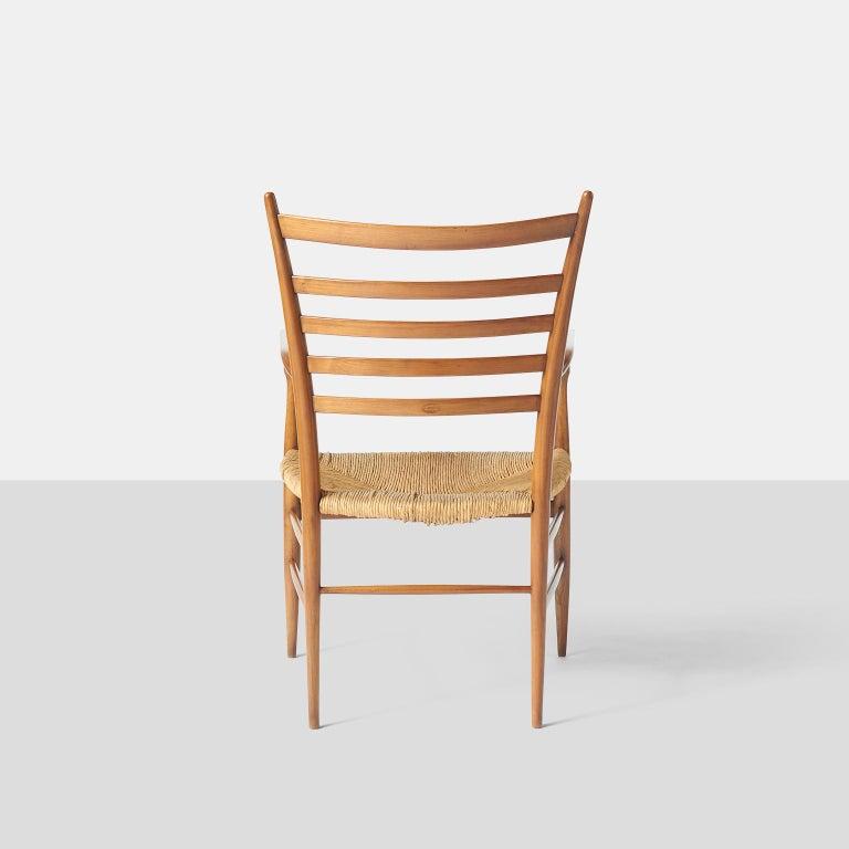 Rush Paolo Buffa Chiavarine Armchairs For Sale
