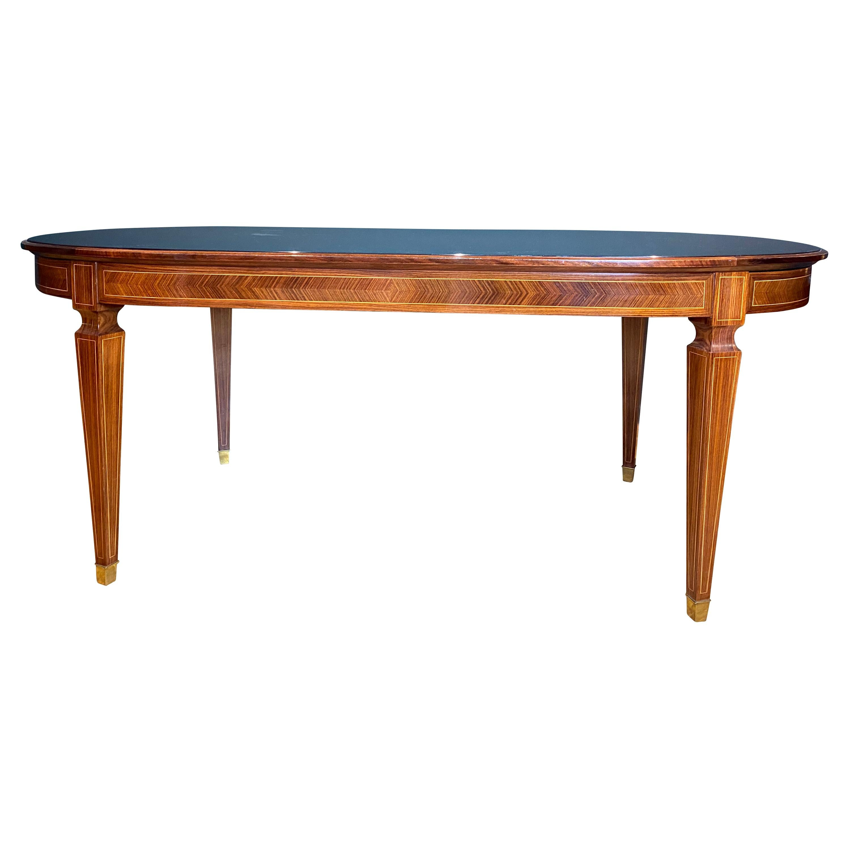 1940s Italian Paolo Buffa Extendable Dining Table